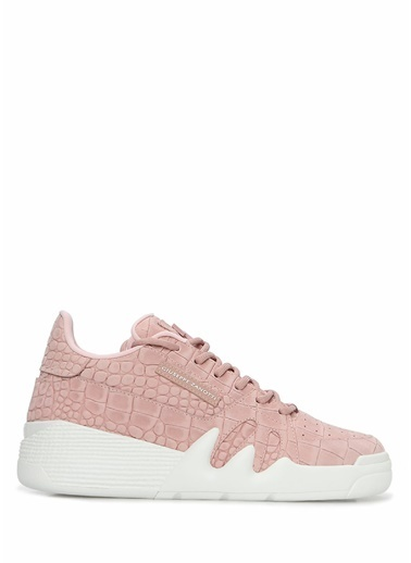 Giuseppe Zanotti Giuseppe Zanotti  Kadın Deri Sneaker 101624555 Pembe